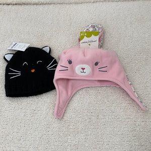 Kitten hats-2 NWT